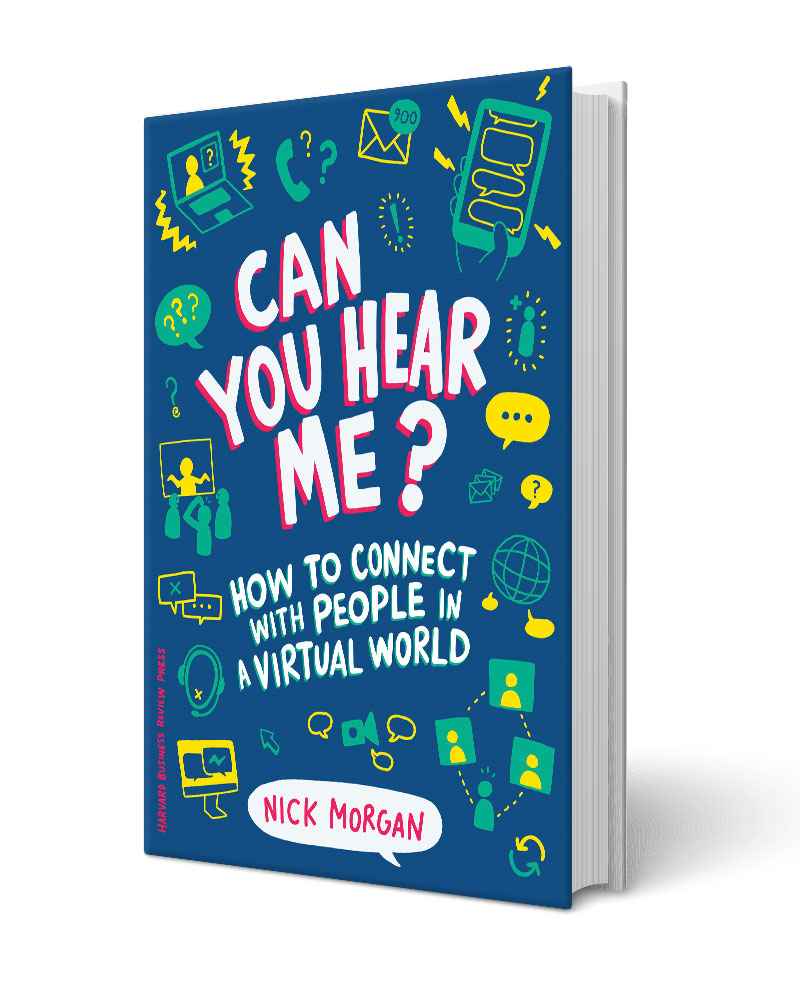 Can You Hear Me by Nick Morgan