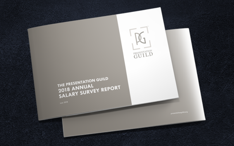 The Presentation Guild, the Salary Survey, and the State of the Presentation Biz