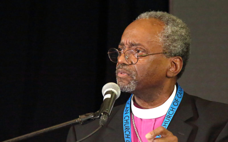 The Most Reverend Michael Curry Takes Us to School