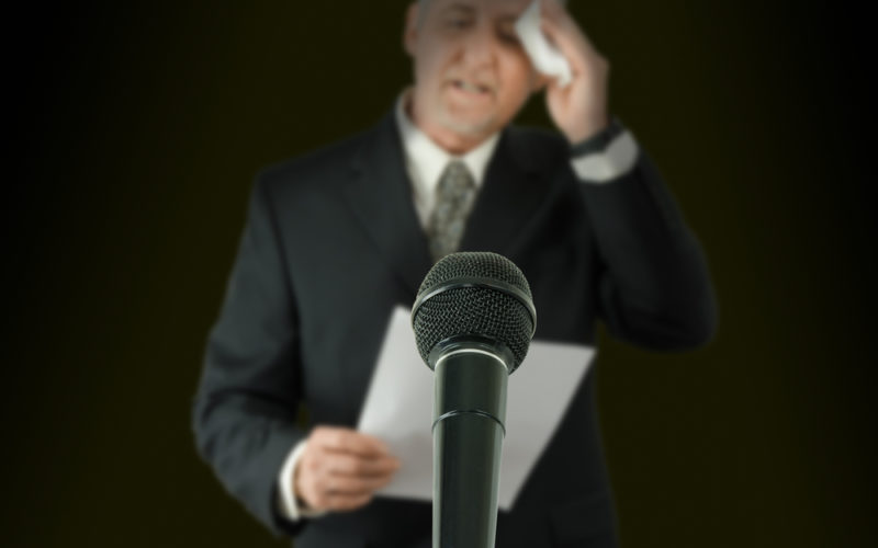 More Fear of Public Speaking